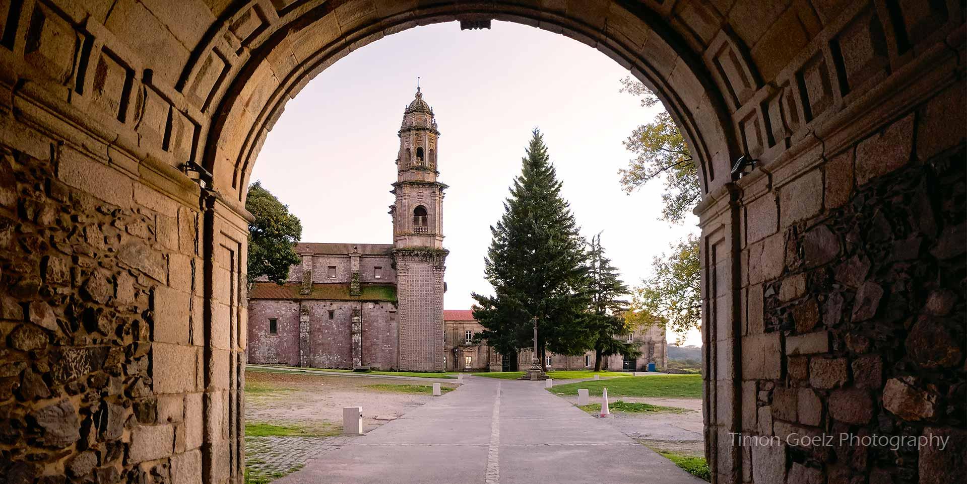 Monasterio Sobrado dos Monxes, Camino del Norte
